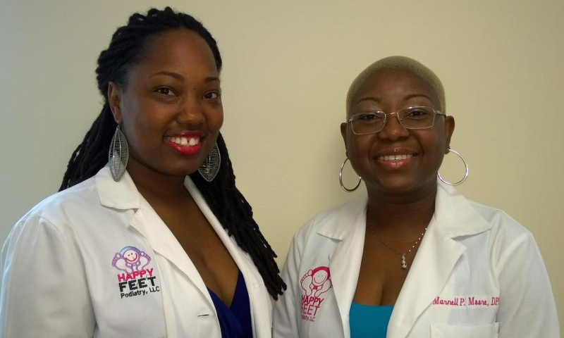 Dr. Jasmaine Shelford and Dr. Marnell P. Moore